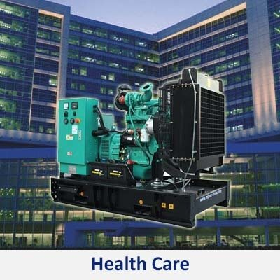 Gensets supplier for the health care industry in the Philippines