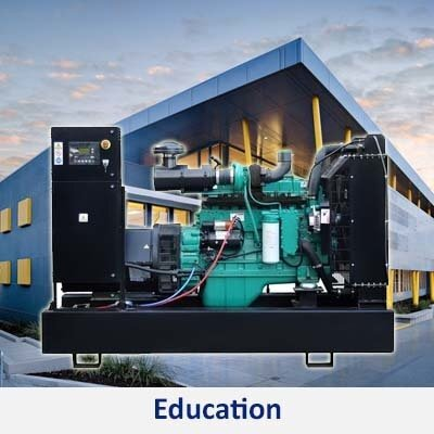 Power generator sets for schools, learning, and education centers in the Philippines