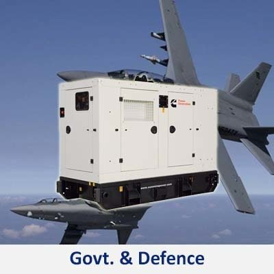 gen sets service provider and gensets products for the government and defense industry